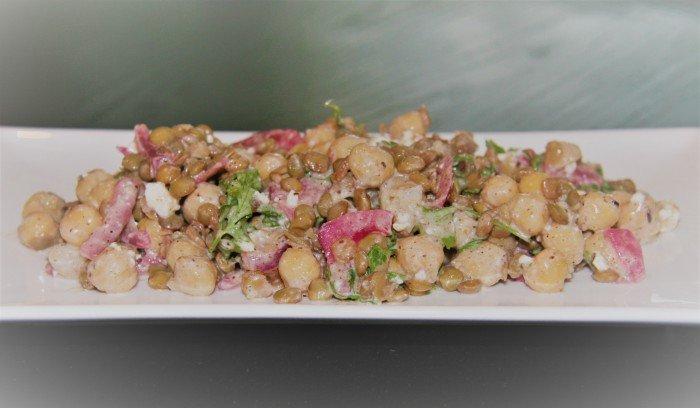 Chickpea and Lentil Salad
