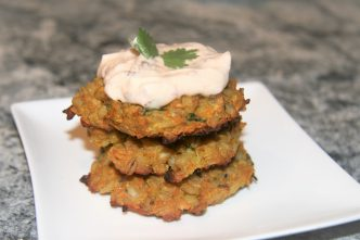 Chickpea and Sweet Potato Patties